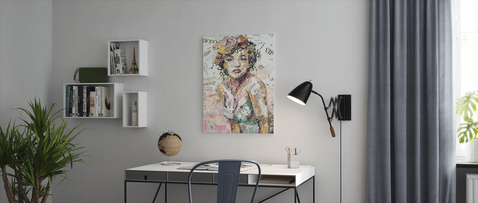 Glam and Glory - Canvas print - Office