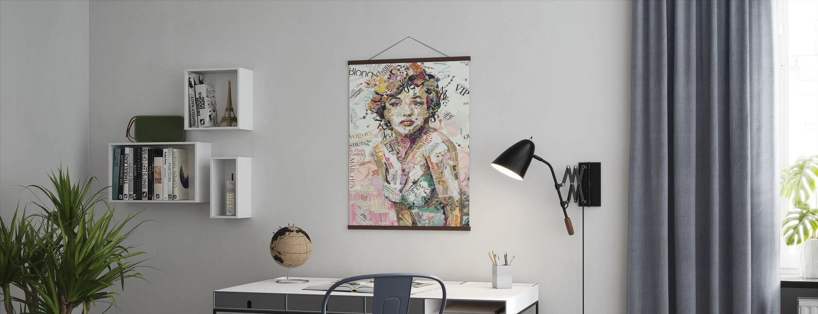 Glam und Ruhm - Poster - Büro