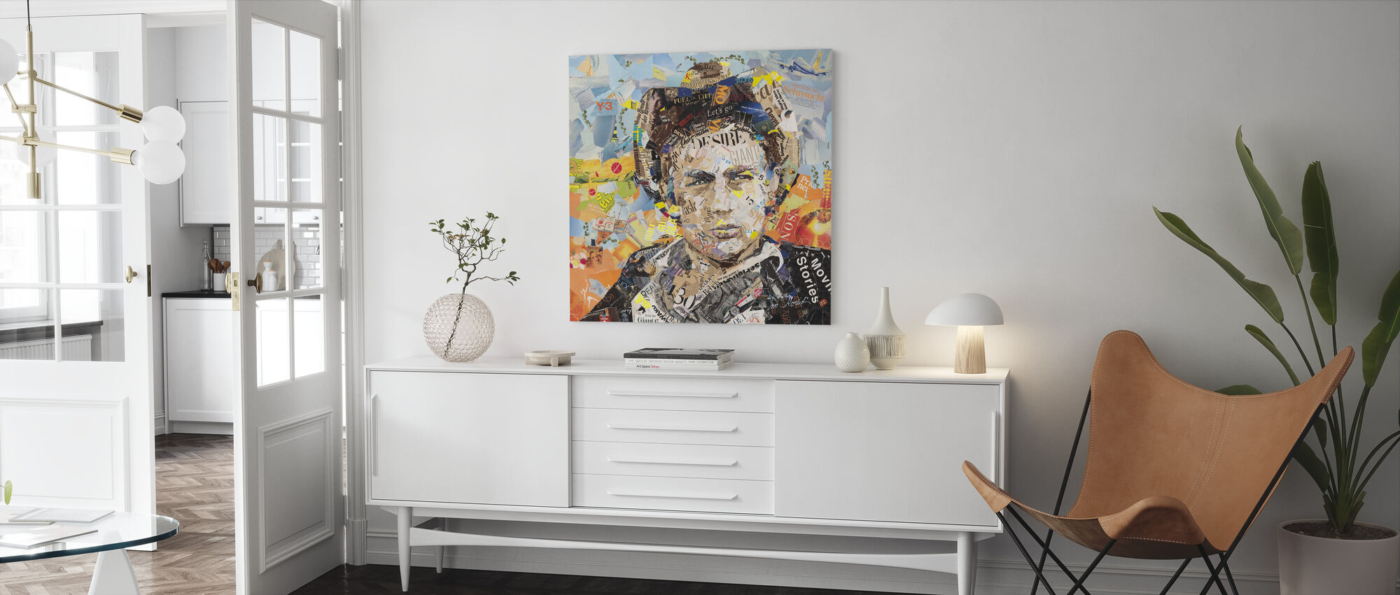 That Guy's Gotta Stop - Canvas print - Living Room