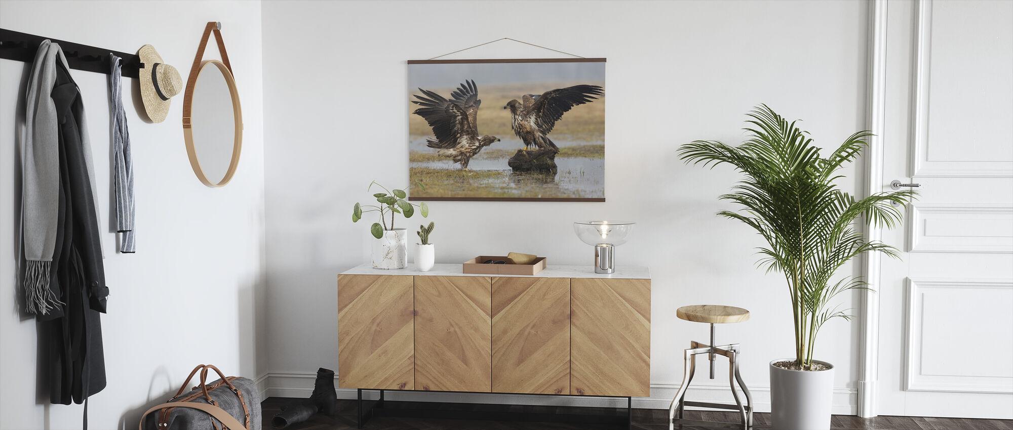 Open Wings - Poster - Hallway