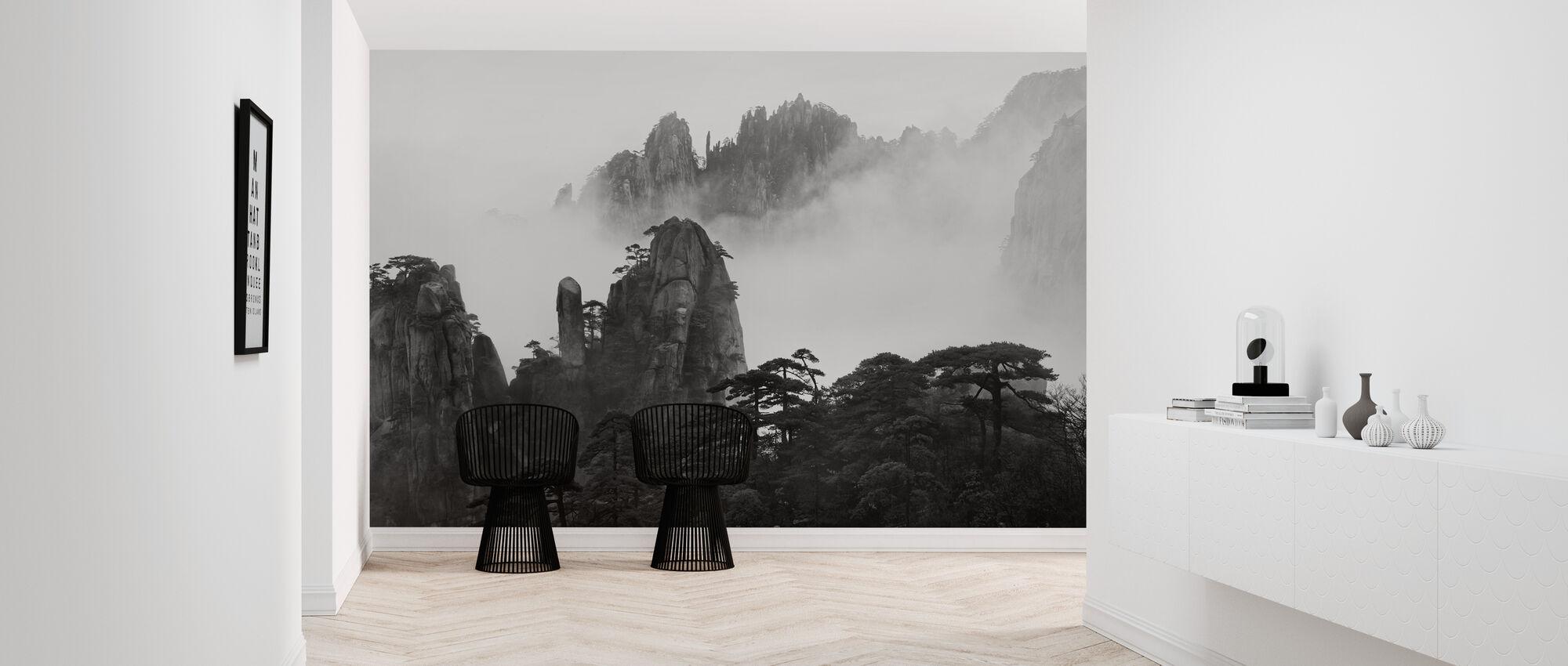 Huangshan - Tapete - Flur
