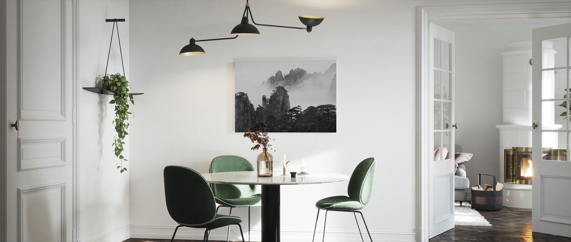 Huangshan - Canvas print - Keuken