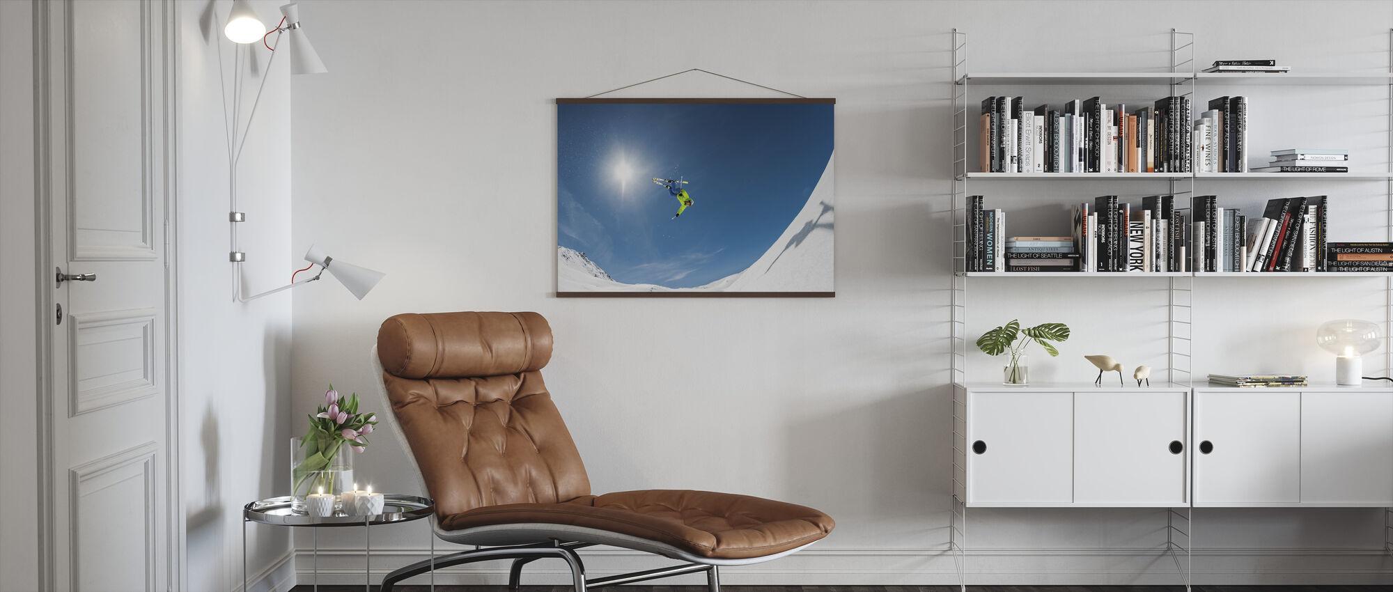 Backcountry Backflip - Poster - Living Room