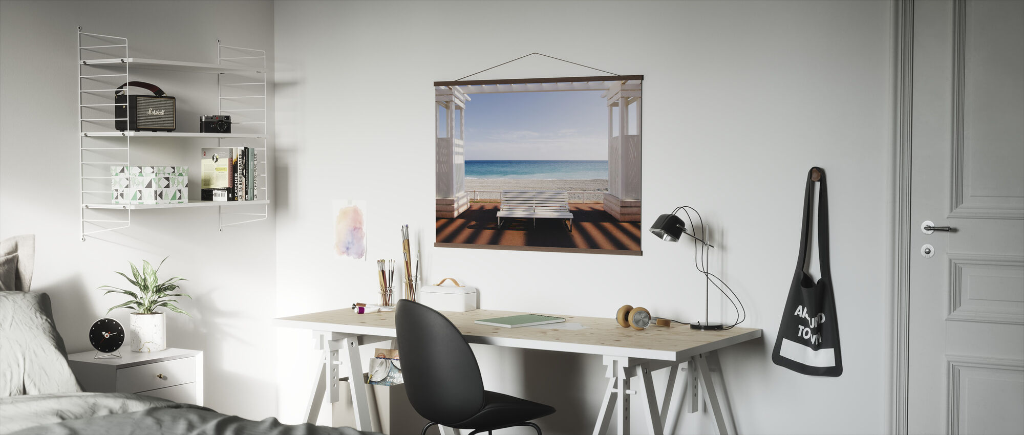 Window to the Sea - Poster - Office