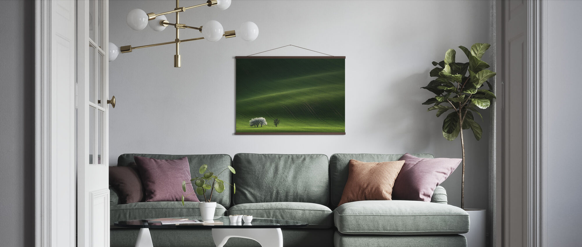 Ladies in White - Poster - Living Room