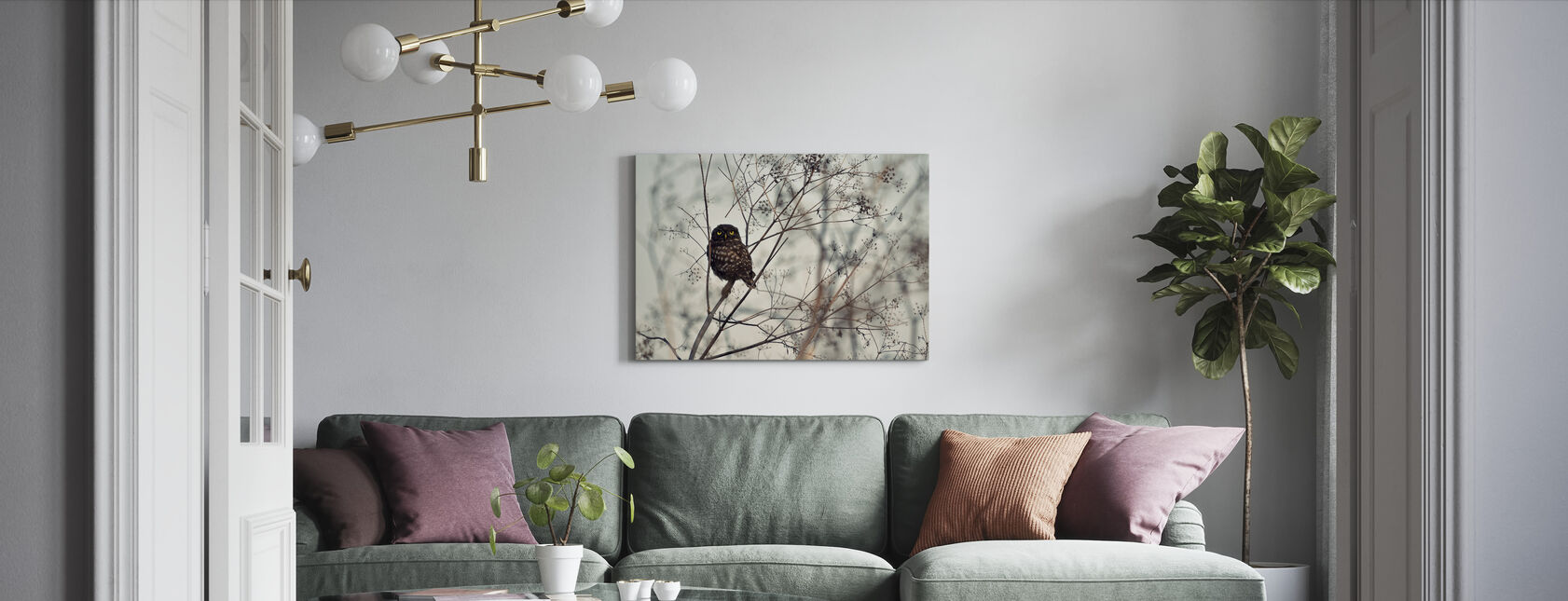 Look at Me - Canvas print - Living Room