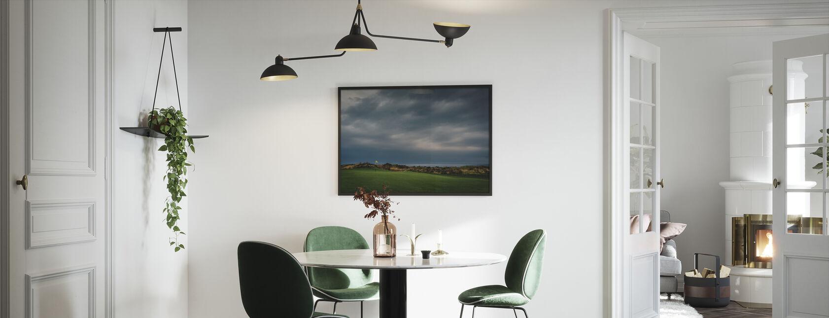 Golfbane i Lofoten, Norge - Innrammet bilde - Kjøkken