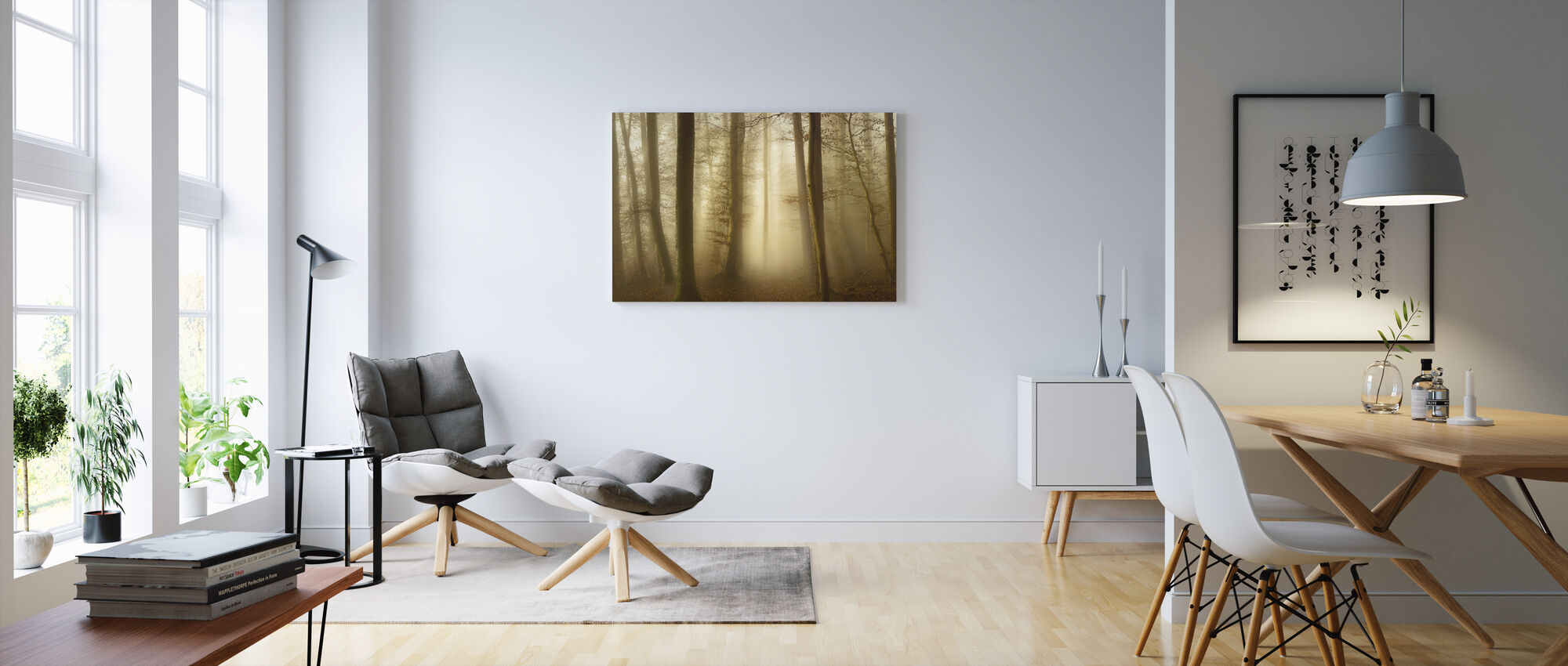 Into the Trees - Canvas print - Living Room