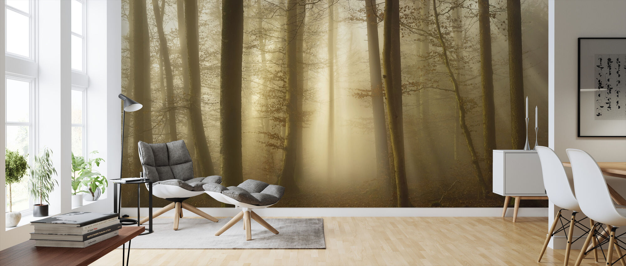 Into the Trees - Wallpaper - Living Room
