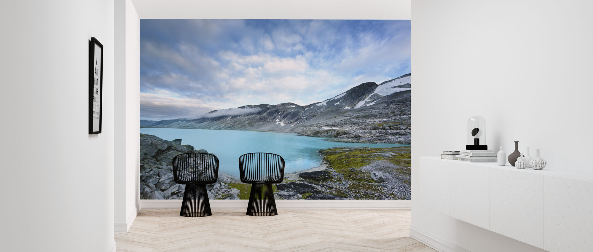 Old Strynefjell, Norway - Wallpaper - Hallway