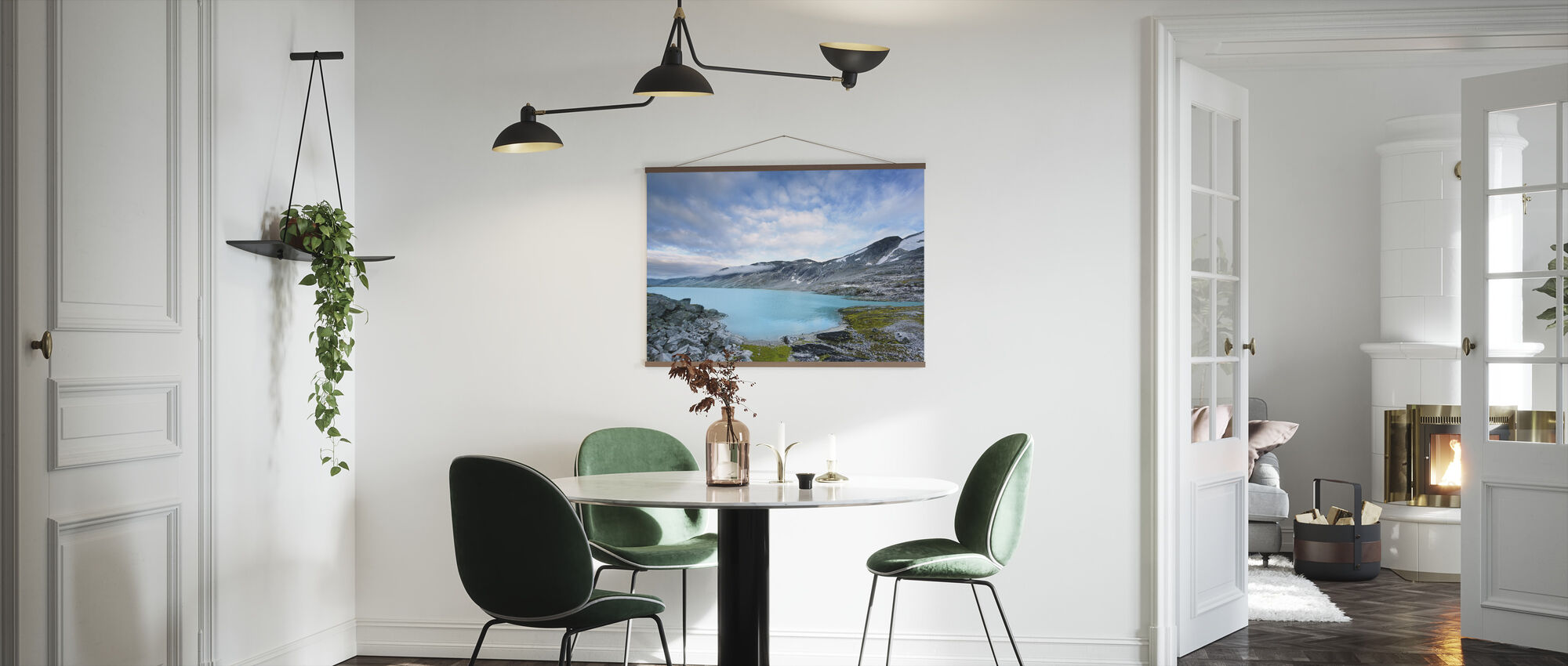Old Strynefjell, Norway - Poster - Kitchen