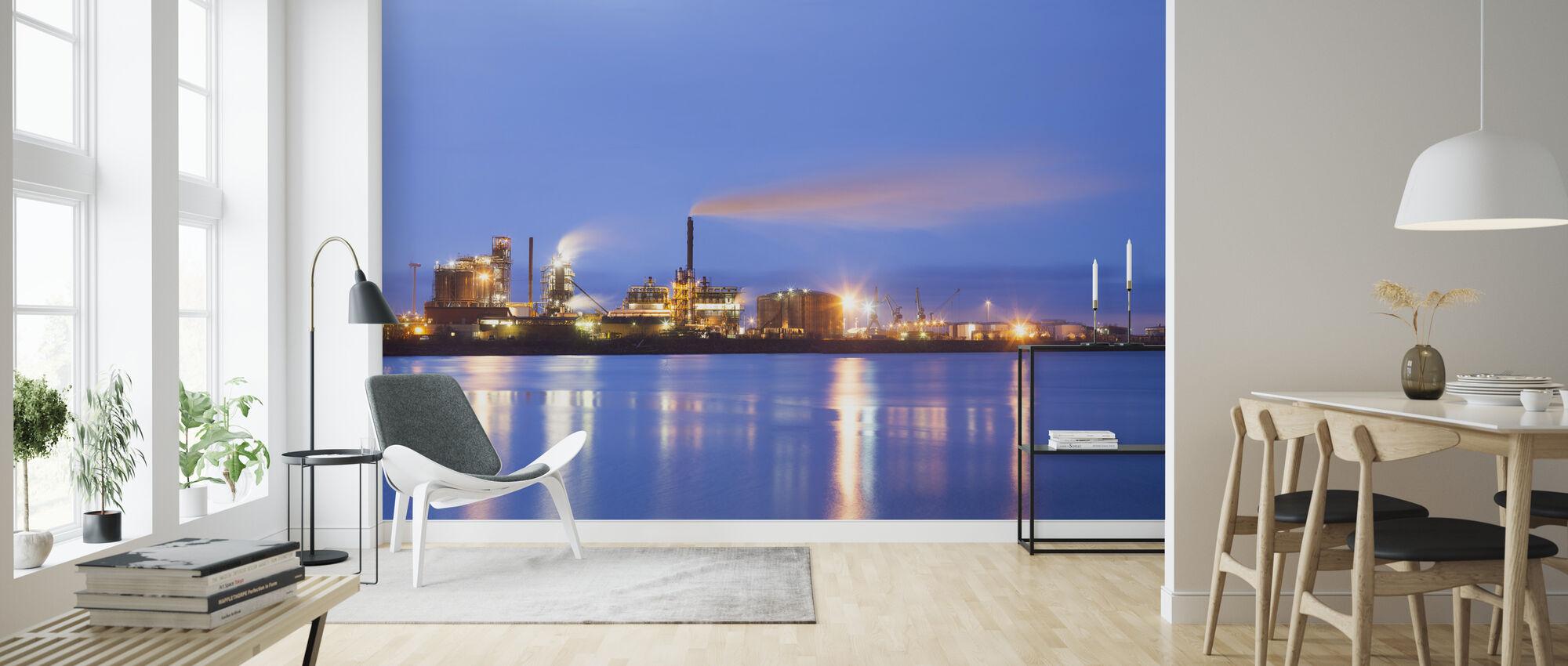Östra Harbour in Malmö - Wallpaper - Living Room