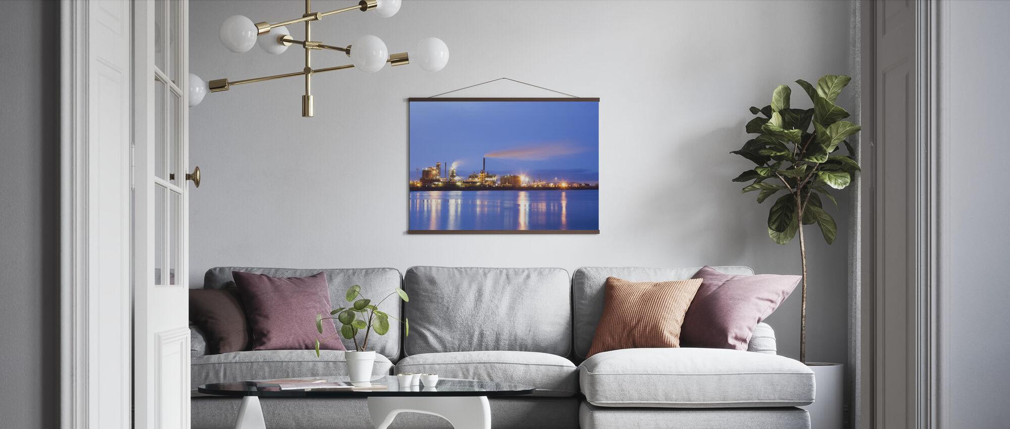 Östra Harbour in Malmö - Poster - Living Room