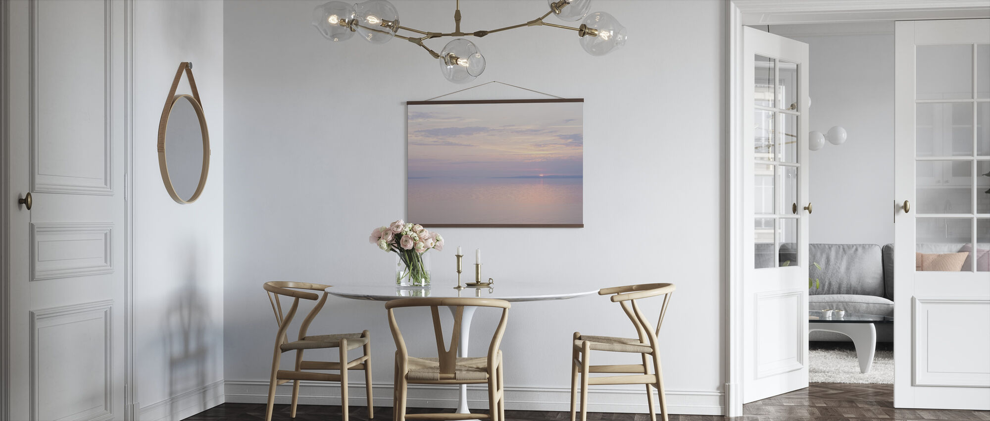 Light Pink Sea - Poster - Kitchen