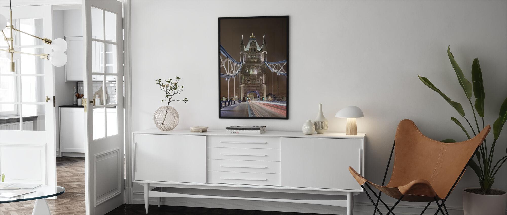 Standing on London Bridge II - Framed print - Living Room