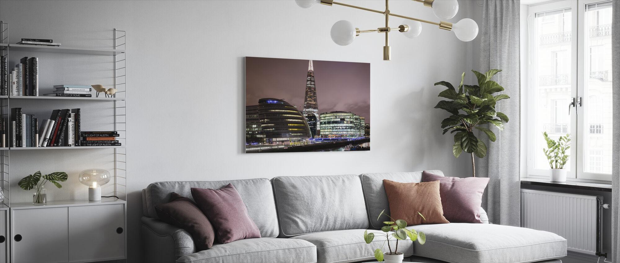 London Architecture - Canvas print - Living Room