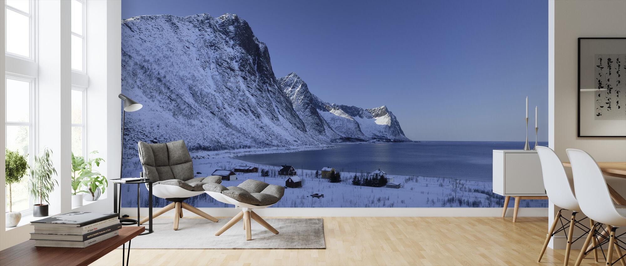 Fishing Village in Senja, Norway - Wallpaper - Living Room