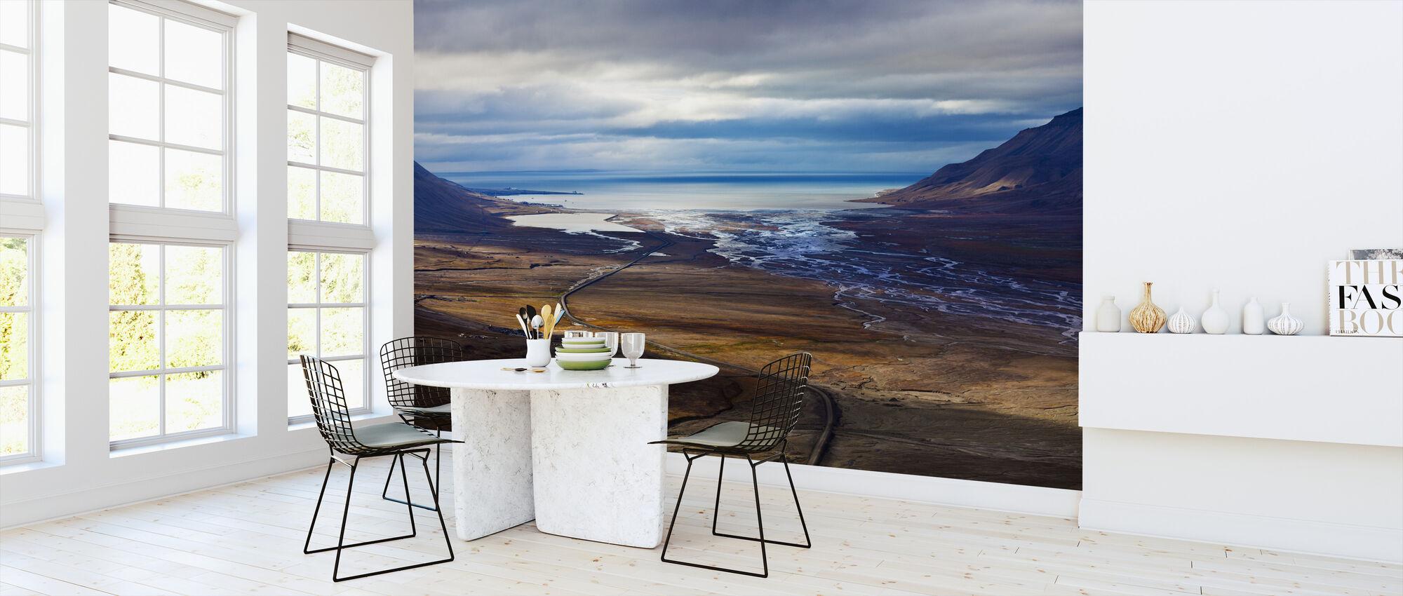 Svalbardkysten - Tapet - Kjøkken