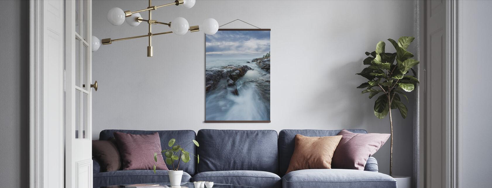 Steiner i Østersjøen - Plakat - Stue