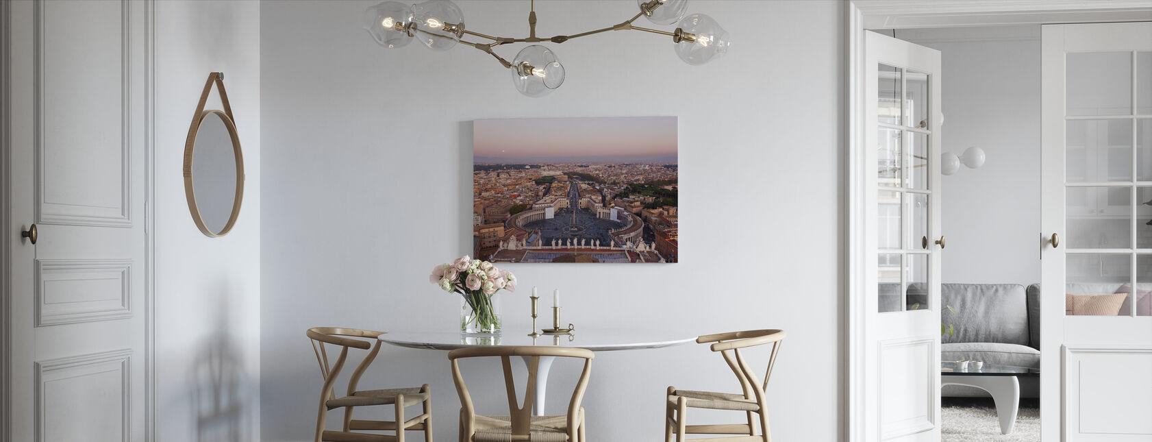Vatican, Rom - Billede på lærred - Køkken