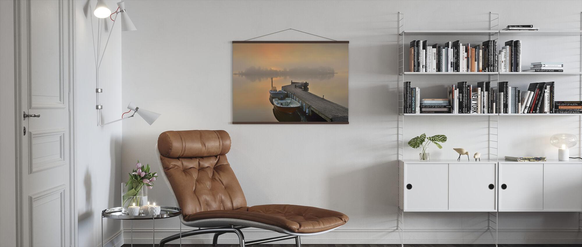 Boatlife in Stockholm Archipelago - Poster - Living Room