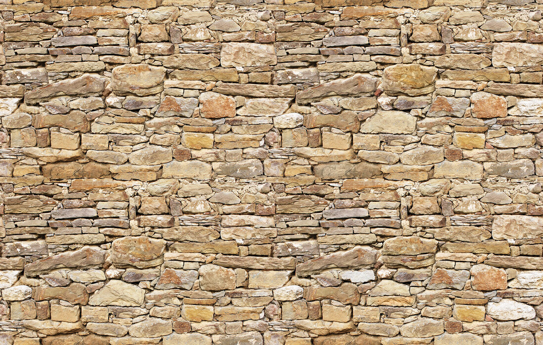 rustic stone wall custom wallpaper photowall