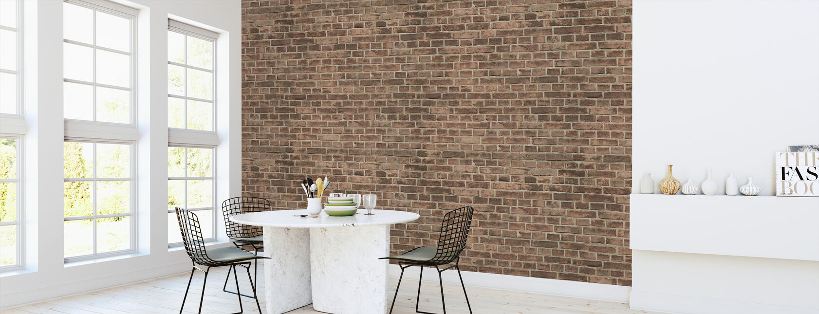 Amsterdam Brick Wall - Wallpaper - Kitchen
