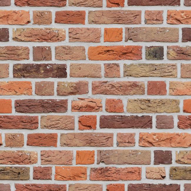 Varied Brick Wall Fototapeter & Tapeter 100 x 100 cm