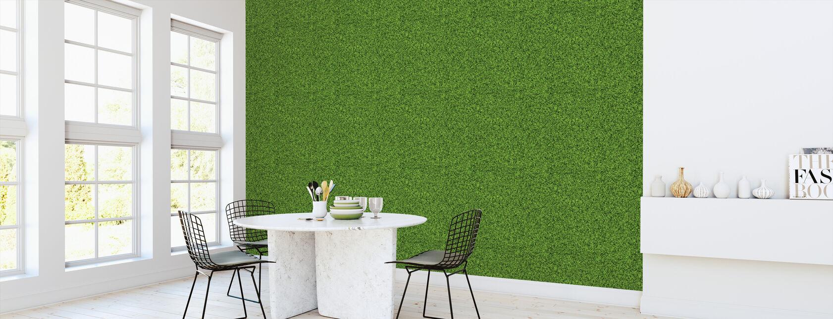 Green Lawn - Wallpaper - Kitchen