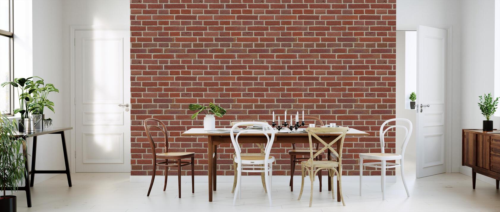 red brick wall einzigartige tapete h chster qualit t. Black Bedroom Furniture Sets. Home Design Ideas