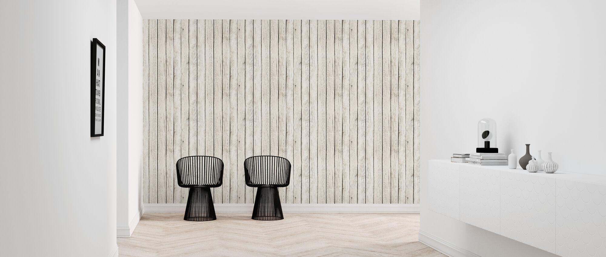 Board Wall - Wallpaper - Hallway