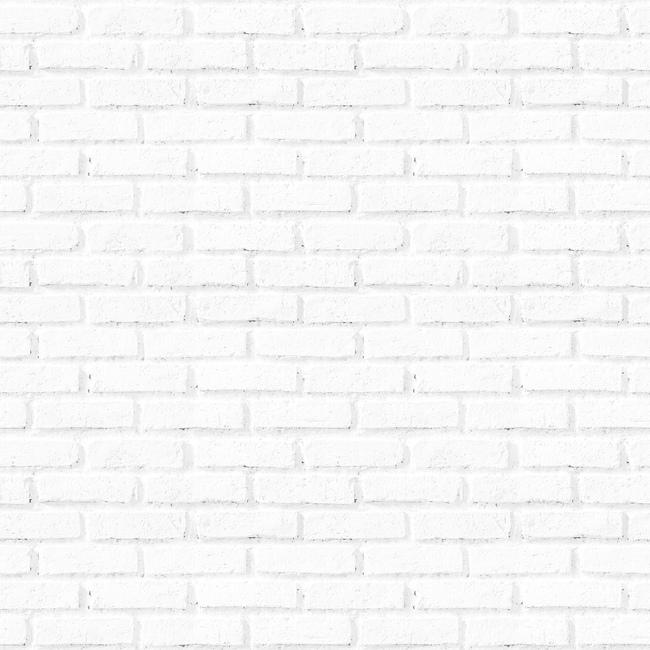 Old White Brick Wall Fototapeter & Tapeter 100 x 100 cm