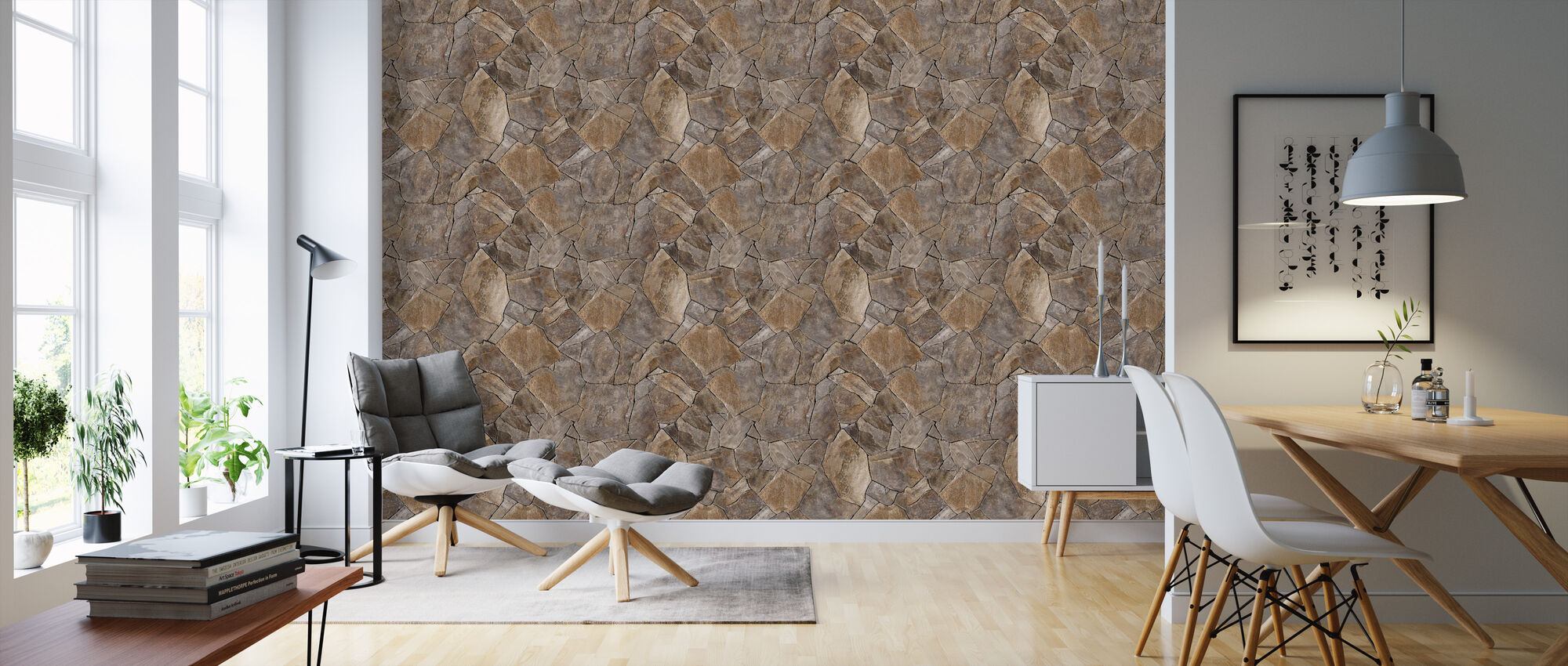 perfect stone wall eine tapete f r jeden raum und jedes ambiente photowall. Black Bedroom Furniture Sets. Home Design Ideas