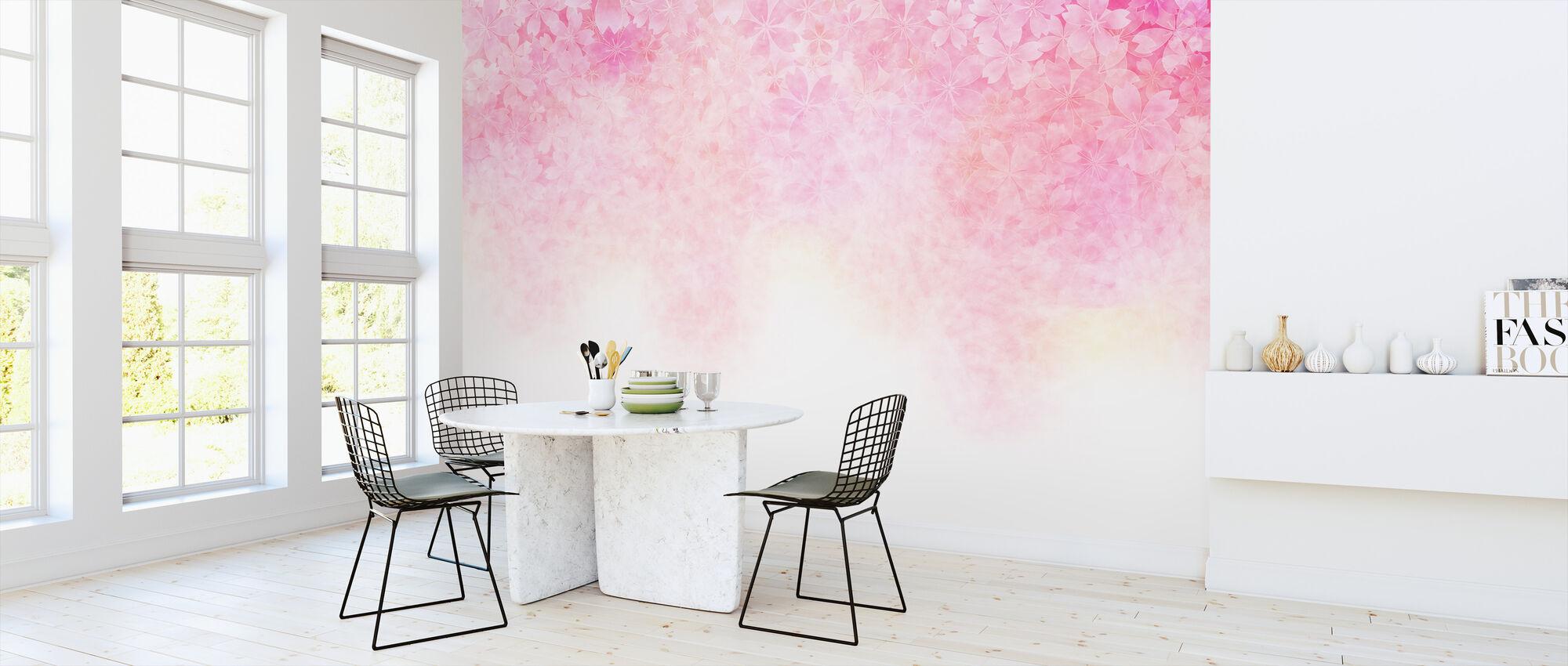 Cherry Blossom - Wallpaper - Kitchen
