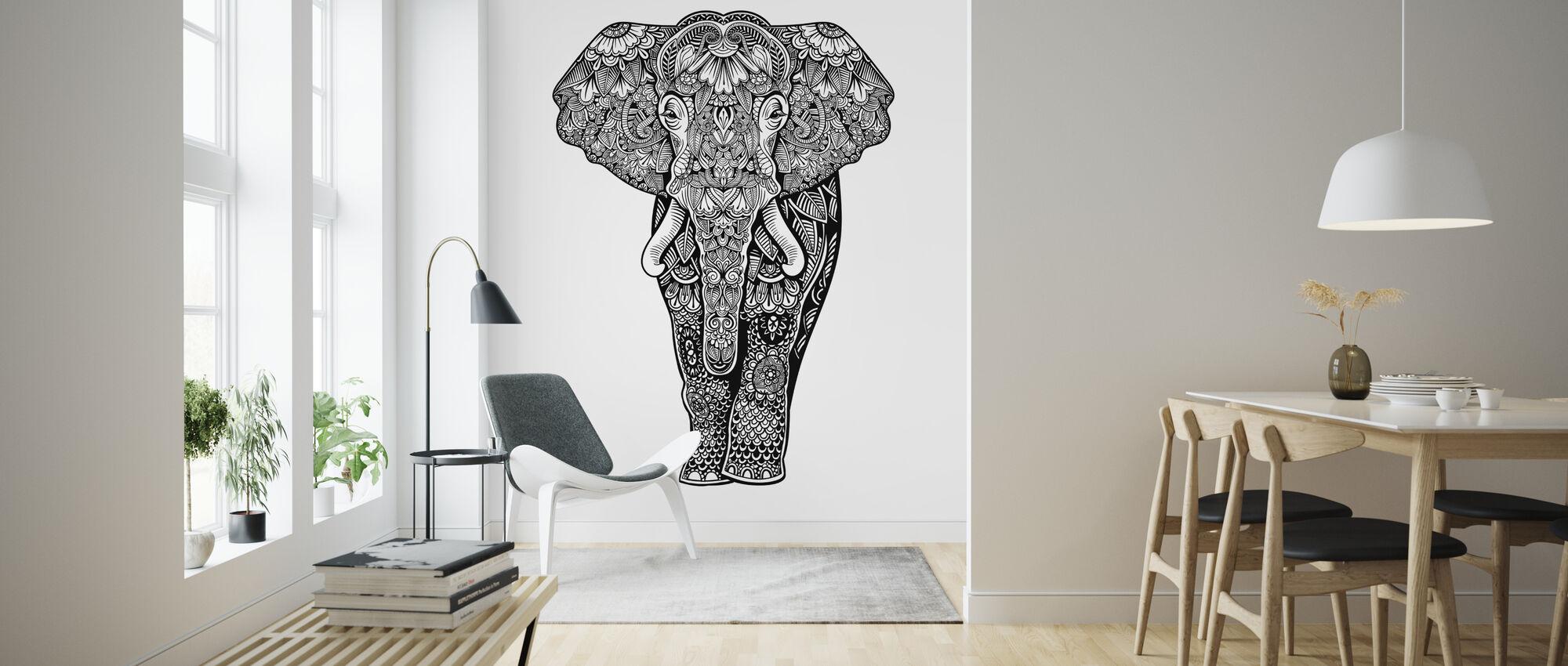 Henna Elefantti - Tapetti - Olohuone
