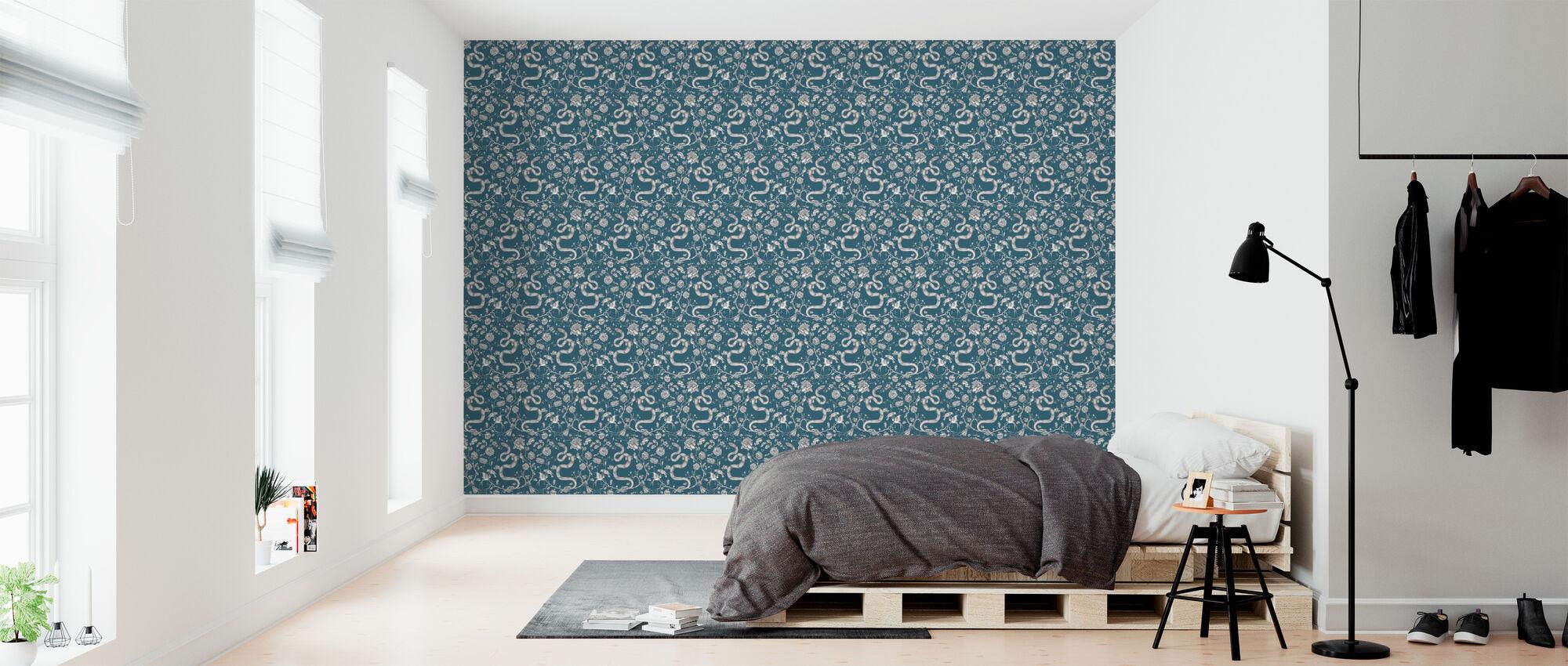 Snake Petrol - Wallpaper - Bedroom