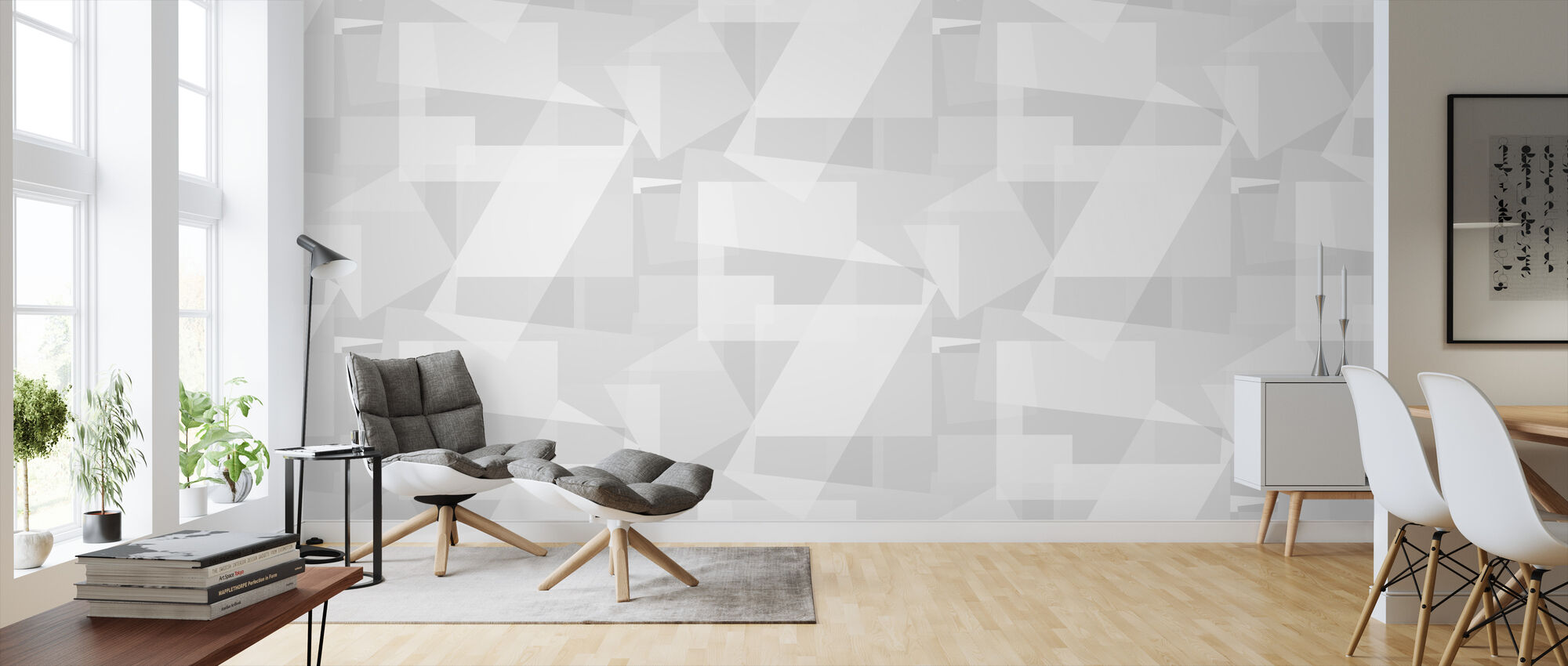 Block Moon - Wallpaper - Living Room