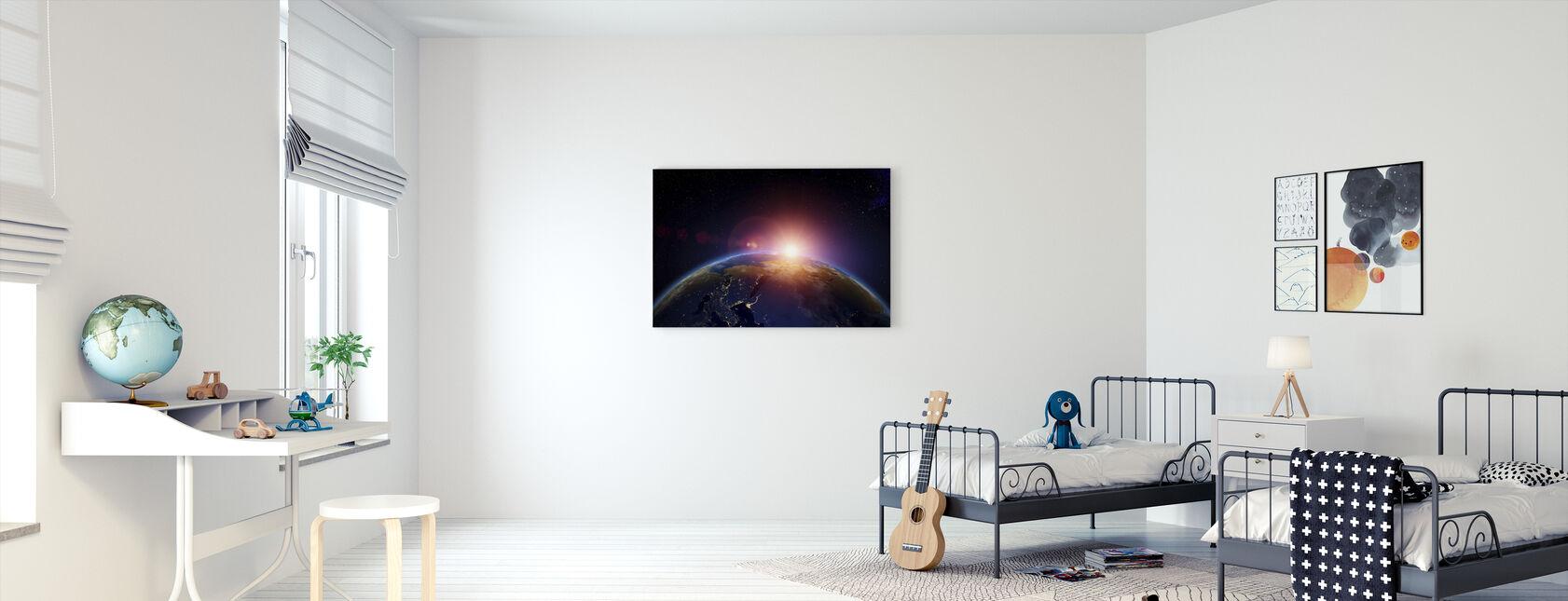 97106504 Kunst for barn – moderne bilder på lerret – Photowall