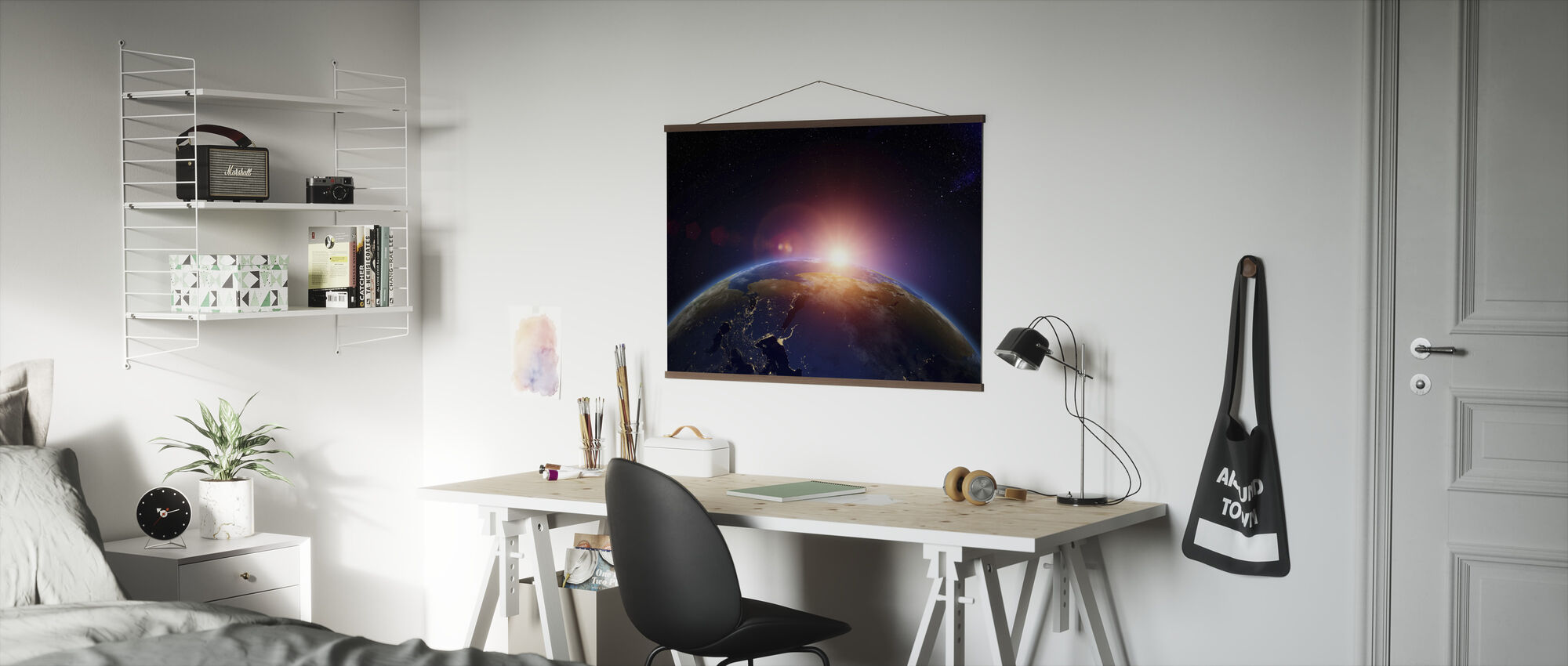 First Hint of Sunrise - Poster - Office