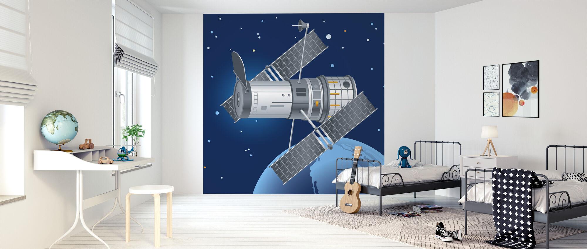 Hubble Telescope - Wallpaper - Kids Room