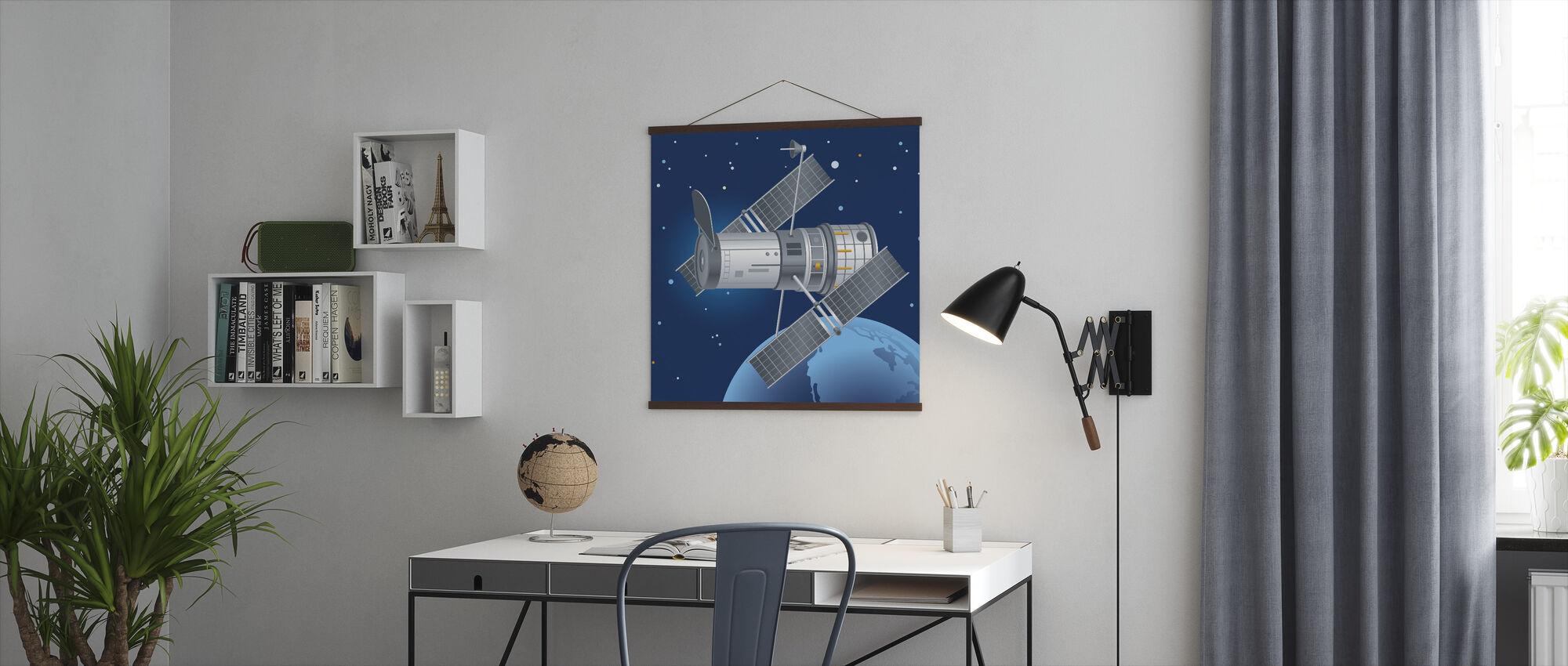 Hubble teleskop - Plakat - Kontor
