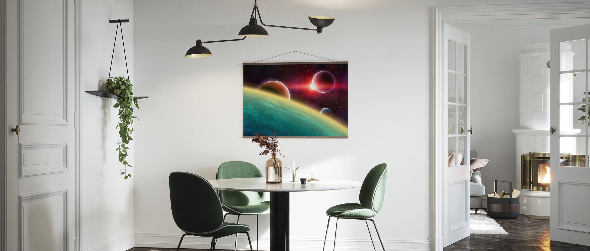 Przestrzeń kosmiczna - Plakat - Kuchnia