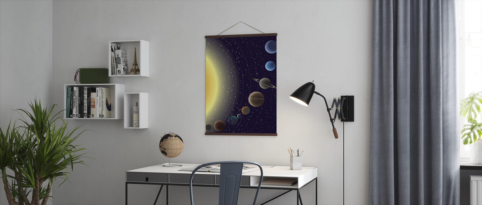Planeter - Poster - Kontor