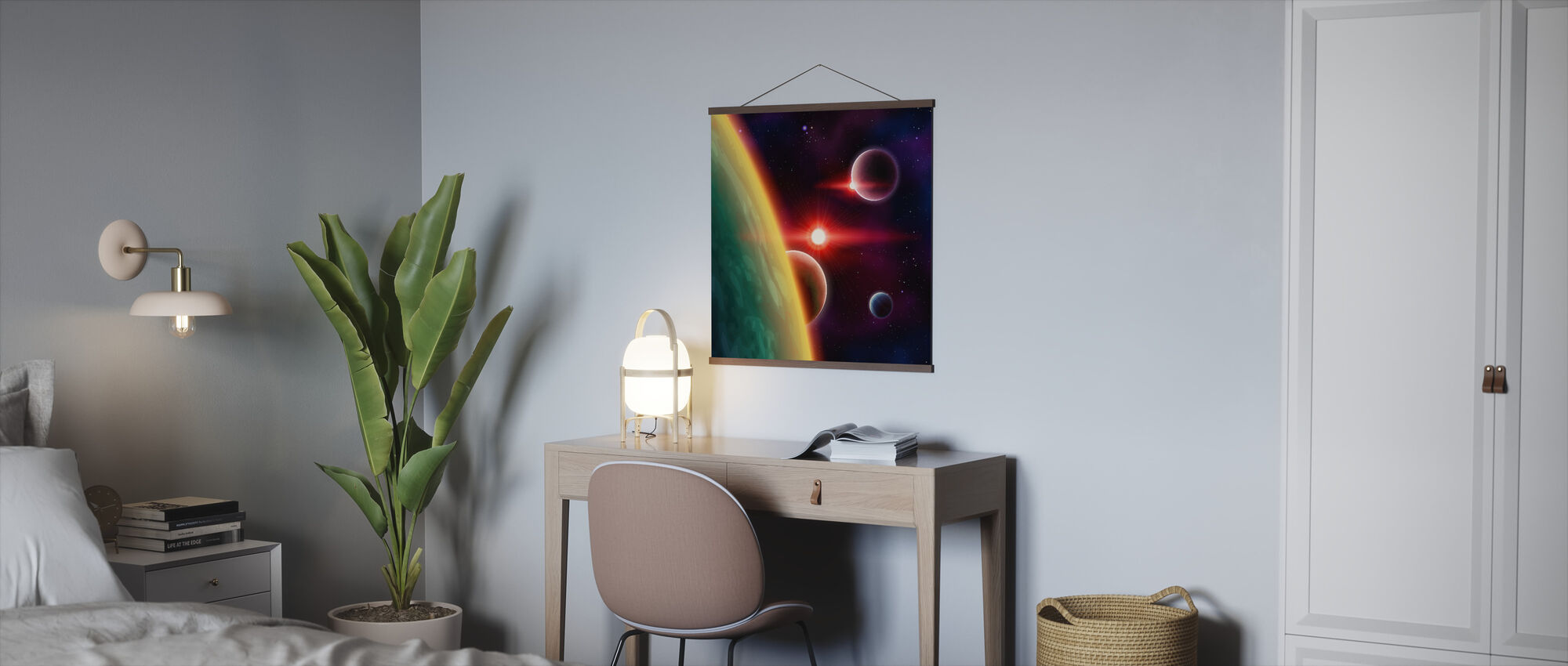 Spaces between Galaxies - Poster - Office