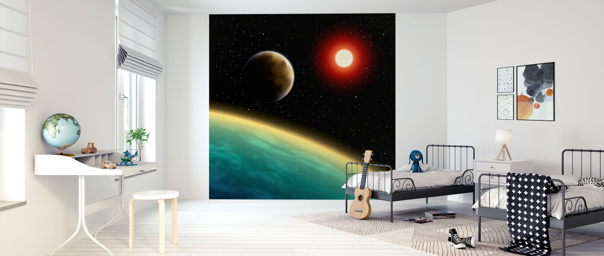 Starry Cosmos - Wallpaper - Kids Room