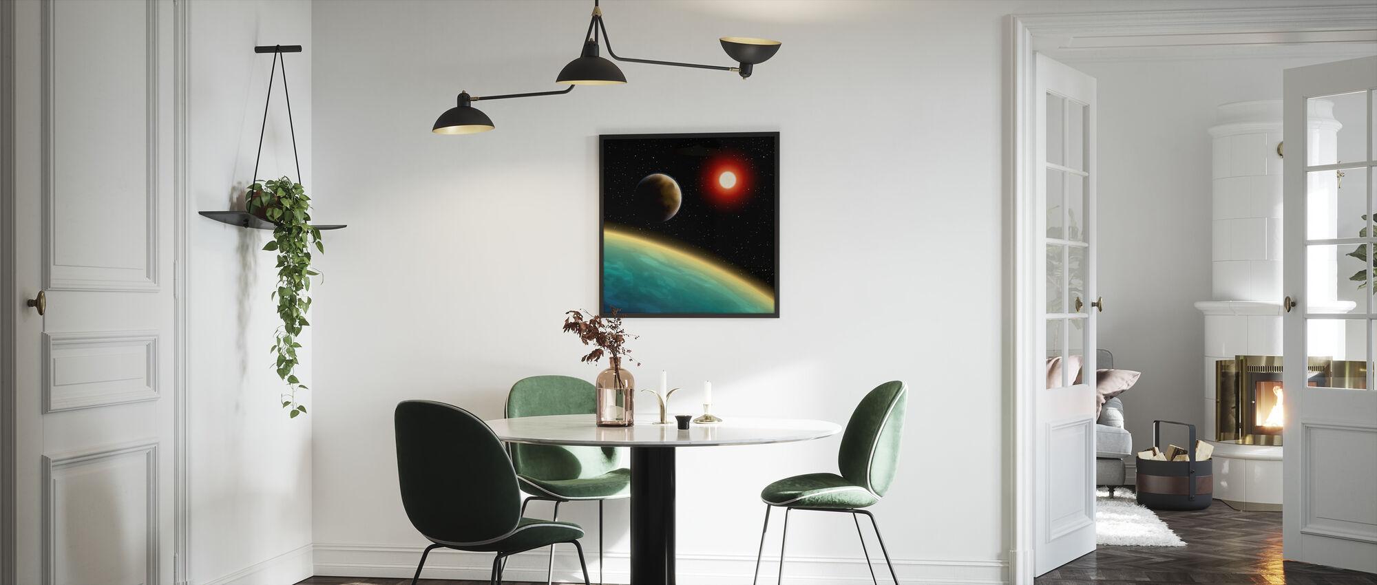 Tähtitaivas kosmos - Kehystetty kuva - Keittiö