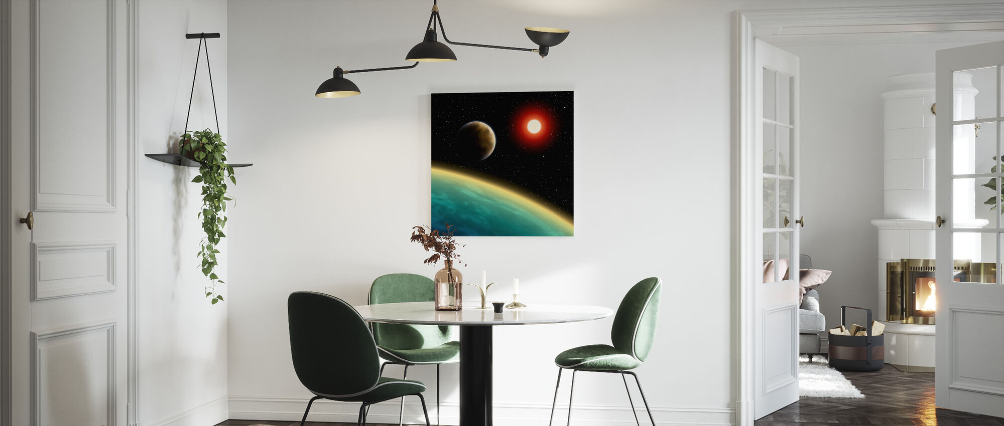 Starry Cosmos - Canvas print - Kitchen