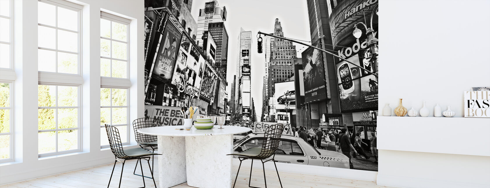 Cabs in Times Square, New York - Wallpaper - Kitchen