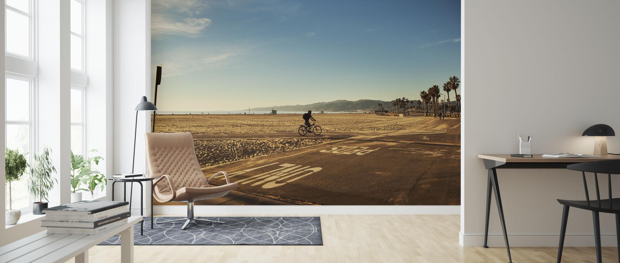 Venice Beach, Los Angeles - Wallpaper - Living Room