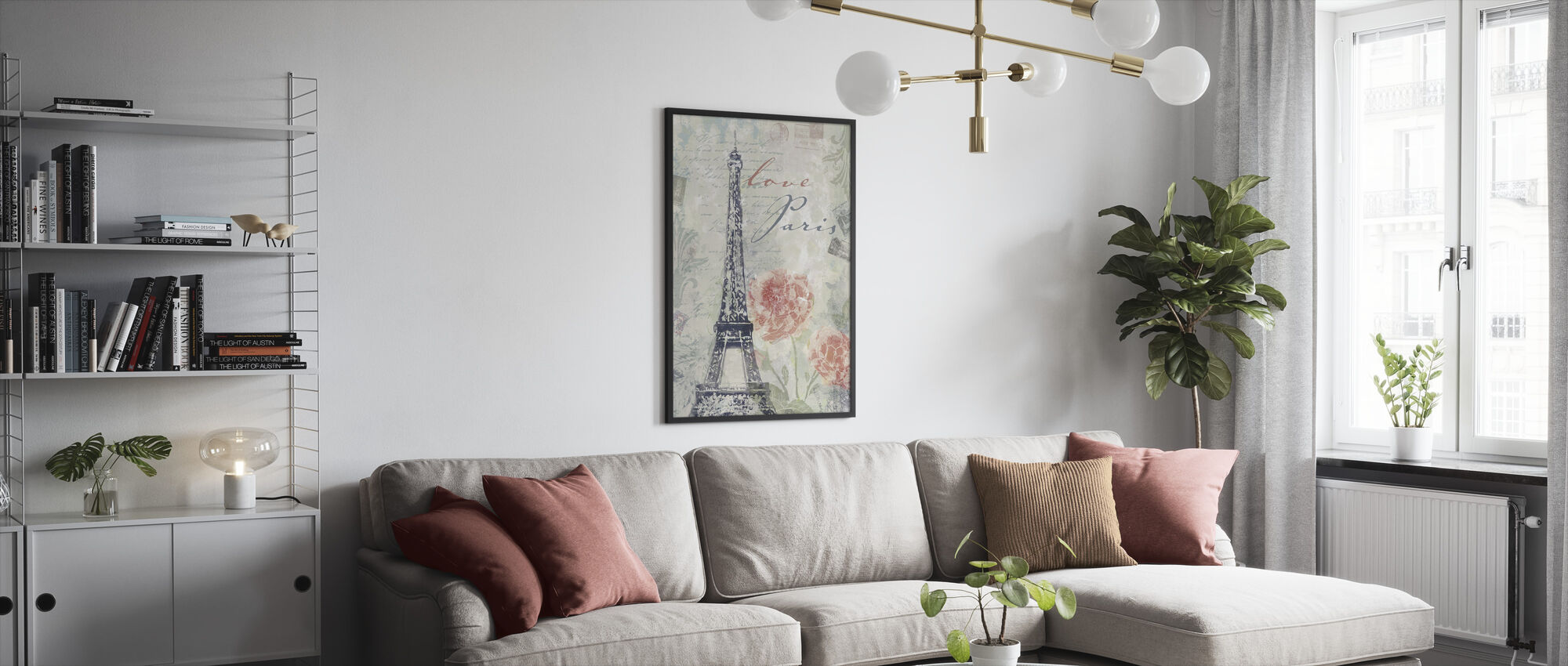 Love Paris - Framed print - Living Room